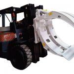 Forkliftarbúnaður 360 snúningur pappírsrúlla klemmur