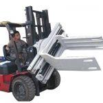 Bale Clamp Forklift viðhengi Úrgangspappír Bale Clamp