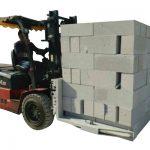 Vökvakerfi Forklift steypu múrsteinar / blokklyftingarklemma