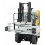 Forklift tvöfaldur trommuklemma