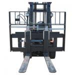 Hyundai Forklift með tilheyrandi gafflastaðstöðu til sölu
