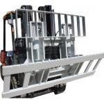 Hinged Gaffel fyrir Forklift